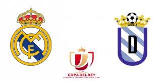 Real Madrid - UE Melilla (Dieciseisavos de final. Copa del Rey. Vuelta)