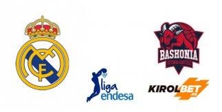 Real Madrid - Kirolbet Baskonia