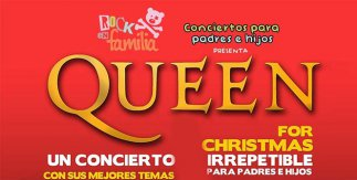 Rock en Familia presenta QUEEN FOR CHRISTMAS