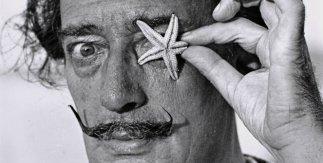 Salvador Dalí.Gelatinobromuro de plata. Revelado artesanal con tratamiento de archivo, papel baritado