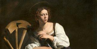 Santa Catalina de Alejandría. 1598-1599. Michelangelo Merisi da Caravaggio.