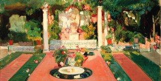 Jardín de la Casa Sorolla, h. 1918 (Segundo jardín)