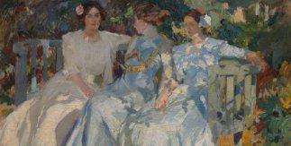 Mi mujer y mis hijas en el jardín, 1910, Colección Masaveu © De la reproducción: Fundación María Cristina Masaveu Peterson. Autor: Marcos Morilla.