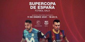 Supercopa de España: Movistar Inter-Barça
