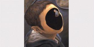 Return Journey. Tetsuya Ishida. 2003. 45,5 x 38 cm. Acrílico y óleo sobre lienzo.