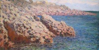 Claude Monet . La Mediterranée, (Cap d´Antibes), 1888
