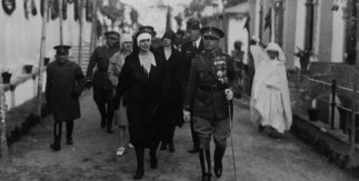Bartolome Ros. La Reina María de Rumanía, Tetuán 1929