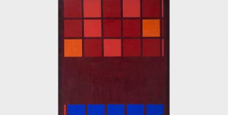 Mohamed Melehi, IBM, 1962. Mathaf: Arab Museum of Modern Art – Qatar Museums y Qatar Foundation
