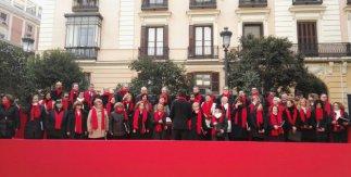 Villancicos en la Plaza de Pontejos - Alianza Coral Madrileña