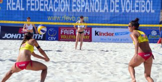 Segunda fase Continental Cup de Voley Playa