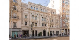 Centro Comercial ABC Serrano. Fachada Serrano