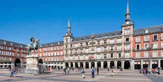 Plaza Mayor de Madrid. Pincha sobre la imagen para disfrutar de la lista de vídeos 360 grados de Madrid