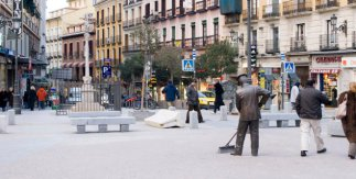 Barrendero madrileño 1960