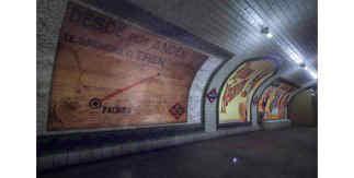 Antiguo vestíbulo de la Estación de Pacífico