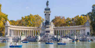 Estanque del Parque de El Retiro / Monumento a Alfonso XII