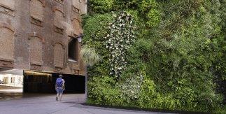 Jardín vertical CaixaForum