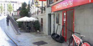 Madrid Segway calle Escalinata