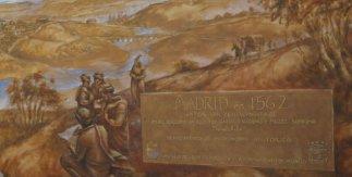 Muralla cristiana de Madrid (Jardín El Almendro)