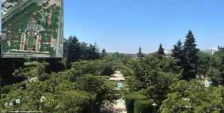 Paseo Virtual por los Jardines de Sabatini (Vivir los Parques)