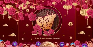 """Exposición cultural del zodíaco chino """"El año de buey: un nuevo comienzo"""". Del 11 al 26 feb"""