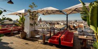 Terraza del Hotel H10 Puerta de Alcalá
