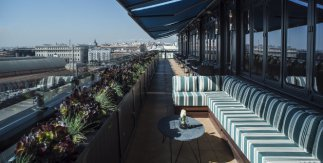 Terraza del Hotel Only You Atocha