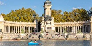 Monumento Alfonso XII (1922) de José Grases Riera. Parque de El Retiro de Madrid