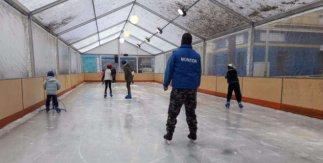 Pista de hielo Puente de Vallecas