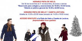 Pista de hielo Puente de Vallecas Navidad 2018-2019