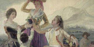 Tapices de Goya en la Real Fábrica de Tapices